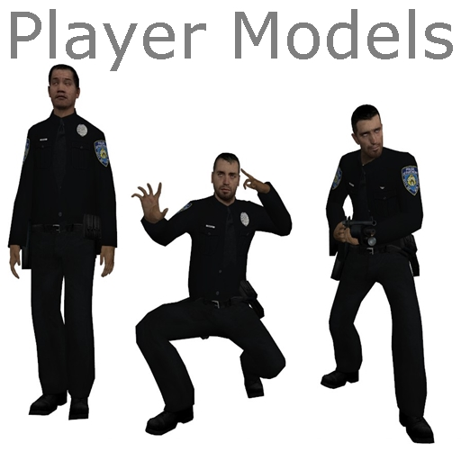 NYPD Cops Player Models
