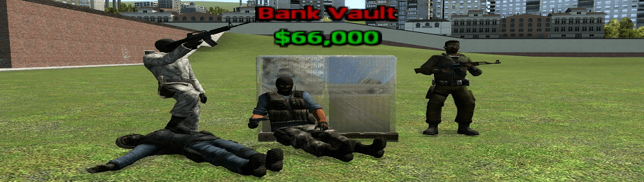 DarkRP Bank Robbery System